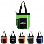 Non-Woven Wave Lunch Tote