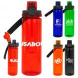 24 oz Locking Lid Colorful Bottle with Infuser