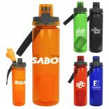 24 oz Locking Lid Colorful Bottle with Floating Infuser