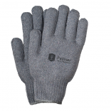 Knitted Gray Gloves