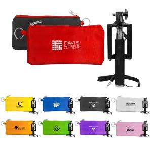 Travel Pouch with Selfie Stick
