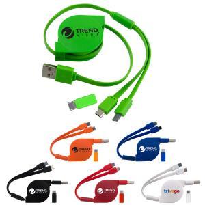 2 Way Retractable Cables