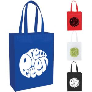 Trendy Mid-Size Laminated Shopper Tote