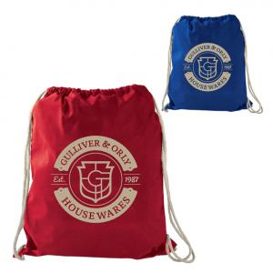 Poltar Large Cotton Drawstring Sportspack