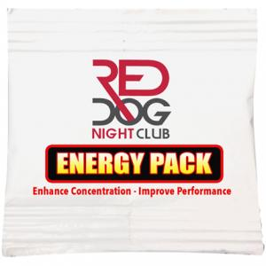Full Color Imprint Energy Packets
