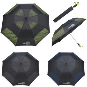 "Slazenger 58"" Vented Auto Open Folding Golf Umbrella"