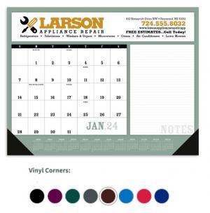 """Highland 22"""" x 17"""" Desk Blotter Calendar"""