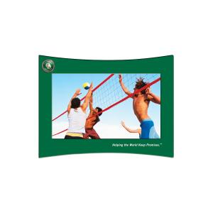 """4"""" x 6"""" Curved Photo Frame"""