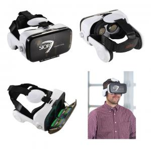 Polar Virtual Reality Headset with Headphones