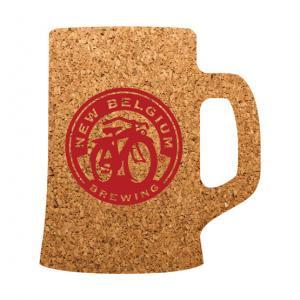 Beer Mug Cork Coaster