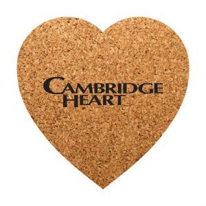 Heart Shaped Cork Coaster