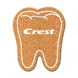 Tooth Cork Coaster