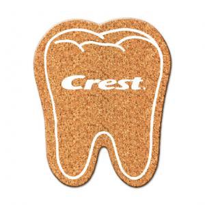 Tooth Cork Coaster