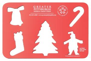 Christmas Holiday Stencil