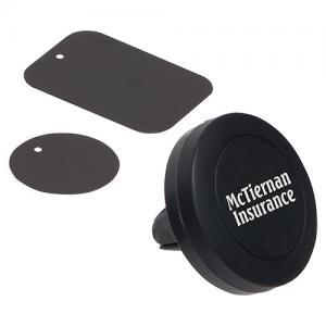 Magna Grip Vent Clip & Phone Stand Black