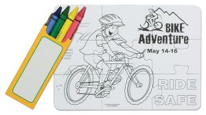 Bike Safety Coloring Puzzle
