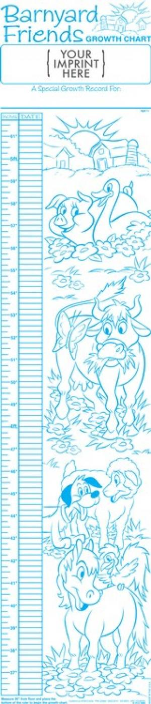 Barnyard Friends Growth Chart