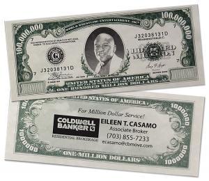 Million Dollar Funny Money Bill