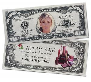Full Color Million Dollar Funny Money Bill