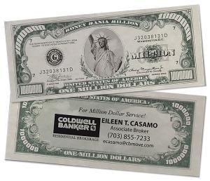 Statue of Liberty Million Dollar Funny Money