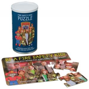 "Full Color 5"" x 7"" Small Puzzle In Can"