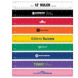 12 inch Colorful Rulers