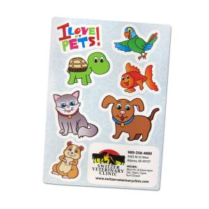 Pet Shaped Stickers