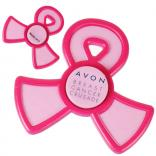 Pink Ribbon Shaped Awareness Spinner