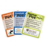 Pet Household Hazards Decal