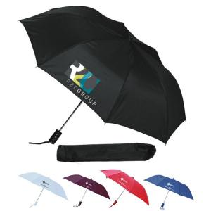 Compact Umbrella with Strap and Cover
