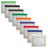 Standard Wall Certificate Holder
