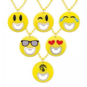 Emoji Bottle Opener Beads