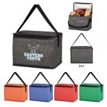 Pacific Non-Woven Crosshatched Lunch Bag
