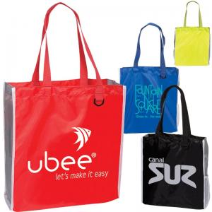 S Line Tote With Side Mesh Pocket