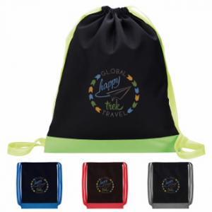 Color Flip Drawstring Back Pack
