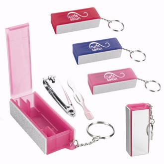 Mini Nail Kit Key Chain