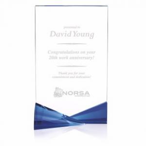 One Of A Kind Crystal Award