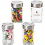 Executive Small Jar with Stainless Steel Lid