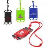 Secure Silicone Phone Lanyard