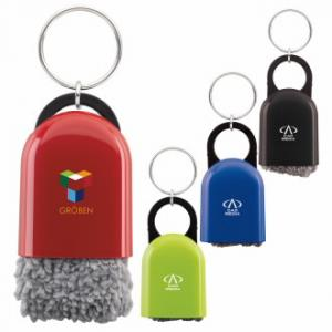 Cleaning Cloth Key Ring