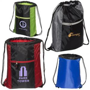 Warrior Drawstring Backpack