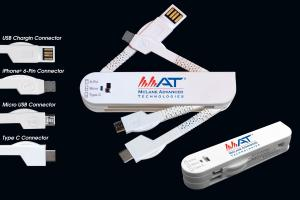Multi Blade Type C 3-in-1 Mobile Charging Cables