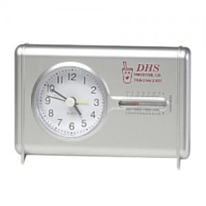 Quartz Desk Clock With Thermometer