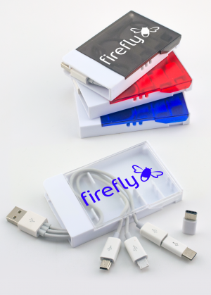 Type C Super Deck 4-in-1 Mobile Charging Cable set