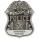 Kids Plastic Police Badge