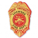 Kids Junior Fireman Badge