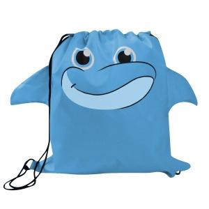 Dolphin Paws N Claws Drawstring Backpack
