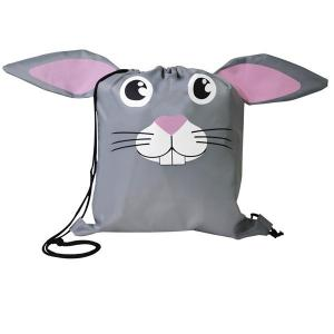 Bunny Paws N Claws Drawstring Backpack