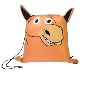 Horse Paws N Claws Drawstring Backpack
