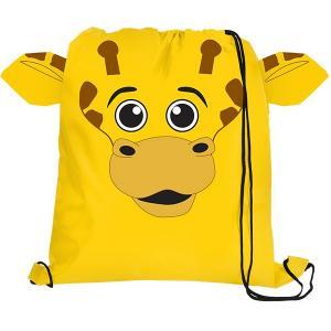 Giraffe Paws N Claws Drawstring Backpack